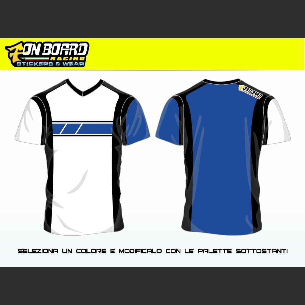 T Shirt Racing 1 0 Vendita Online Su Www Onboardracing It